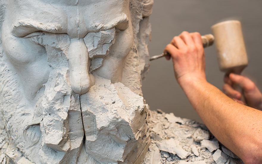 Rzeźba mężczyzny